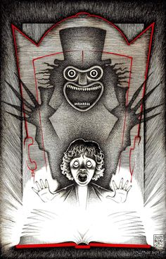 'The Babadook' by Giuseppe Balestra