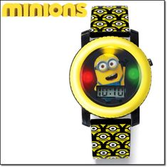 Avon Minions Watch with Light and Sound. Coming in Campaign 13! www.youravon.com/dsheckler #avon #whatsnew #sneakpeek #minions #kids