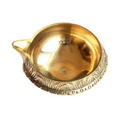 Handicraft Brass Diya Lamp For Puja 4 Cm By Anjalika Brass Handicrafts on Shimply.com