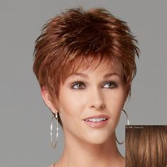 Spiffy Short Side Bang Fashion Shaggy Wavy Capless 100 Percent Human Hair Wig For Women