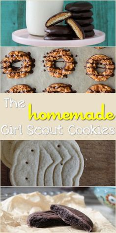 The Homemade Girl Scout Cookies