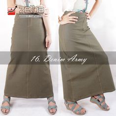 91afde6059042d Jual zetha rok A size XL denim army di lapak Zetha Clothing Store