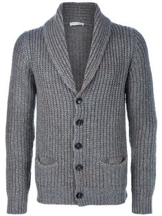 Roberto Collina Cardigans for Men Sleeveless Cardigan, Shawl Cardigan, Ribbed Cardigan, Big And Tall Style, Mens Big And Tall, Crochet Men, Knit Baby Booties, Fall Sweaters, Mens Clothing Styles