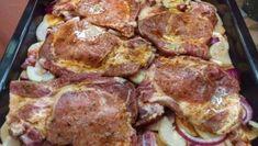 03-1 No Salt Recipes, Pork Recipes, Cooking Recipes, Kebab, Czech Recipes, Hungarian Recipes, Pork Dishes, Food Videos, Food Inspiration