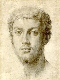 AGNOLO BRONZINO (1503-1572) Head of a man (1550)