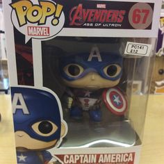 """""""Age of Ultron Avengers Captain America funko pop #avengers #ageofultron #marvel #hulk #funko pop #captainamerica Like this? I'm selling it on @depopmarket. Search for me: diversions on #depop ✌ """" Photo taken by @diversionsgifts.co.uk on Instagram, pinned via the InstaPin iOS App! http://www.instapinapp.com (07/17/2015)"""