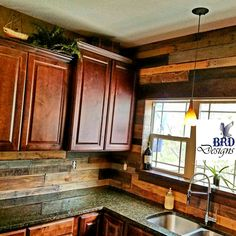 @dustinleaders omg this is beautiful. The counters, backsplash, and cabinet stain.