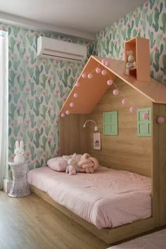 Stunning Kids Bedroom Design Ideas On A Budget 14 Kids Bedroom Designs, Kids Room Design, Baby Room Decor, Bedroom Decor, Girls Bedroom Furniture, Baby Bedroom, Fantasy Bedroom, Big Girl Rooms, Home