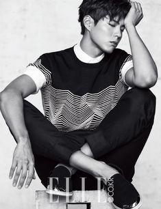 Park Bo Gum - Elle Magazine April Issue '16 - Korean Magazine Lovers