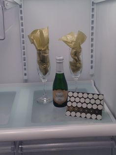 Fun move in surprise when they open there fridge!