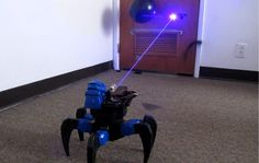 Homemade Death Ray Laser DRONE BOT!!! Remote Controlled!!
