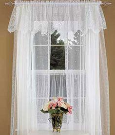1000 Images About Lace Curtains On Pinterest Country