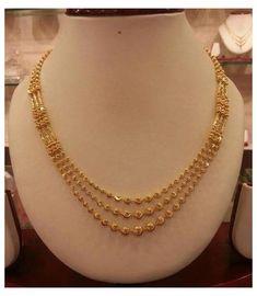 Bracelets Design, Gold Bangles Design, Jewelry Design Earrings, Gold Earrings Designs, Gold Jewellery Design, Indian Gold Jewellery, Gold Chain Design, Indian Gold Necklace Designs, Simple Necklace Designs