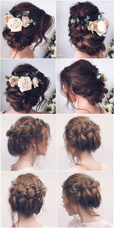 62 Wedding Hairstyles from Ulyana Aster to Get You Inspired Incredible Bridal Updos Beautiful flower crown braids wedding low updo for long hair spring & summer 2018 braid updos Wedding Hairstyles For Long Hair, Box Braids Hairstyles, Wedding Hair And Makeup, Bride Hairstyles, Hairstyles Pictures, Vintage Hairstyles, Hairstyle Ideas, Bun Hairstyle, Hairstyles 2018