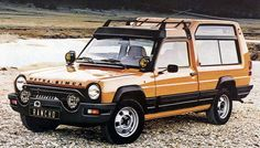 matra simca rancho - I remember these from when I was akid in the eighties - despite the looks it was gutless, tinny & 2 wheel drive but soooo cooool! Makes you wonder where Land Rover got the styling ideas for the Discovery doesn't it? Subaru, Ford Explorer Sport, Toyota 4runner, Jeep Wrangler, Matra, Psa Peugeot Citroen, Weird Cars, Old Cars, Motor Car