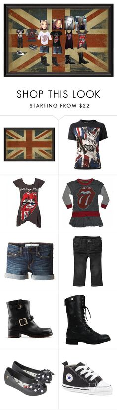"""Rolling Stones Day"" by born2shine ❤ liked on Polyvore featuring Tiger In The Rain, Joe's Jeans, Gap, Valentino and Melissa"