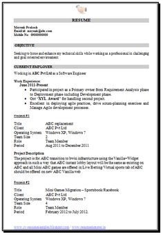 professional curriculum vitae resume template for all job seekers sample template of a mca resume resume format for mca student