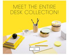 Kate Spade Saturday: Meet the entire Desk Collection. GO.