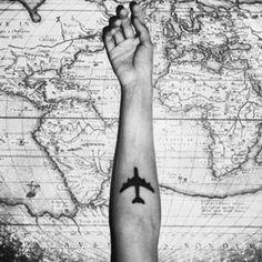 Beautiful Travel Tattoos Design and Ideas