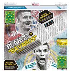 Previo por Champions League del Bayern y Real Madrid