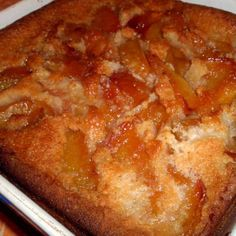 Peach Floating Cobbler