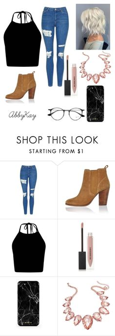 """Meet the parents!"" by abby017 ❤ liked on Polyvore featuring Topshop, River Island, Burberry, Thalia Sodi and Ray-Ban"