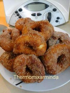 Recetas para tu Thermomix - desde Canarias: Rosquillas fritas de naranja Croissants, Cupcakes, Cupcake Cakes, Desserts Espagnols, Cake Recipes, Dessert Recipes, Actifry, Good Food, Yummy Food
