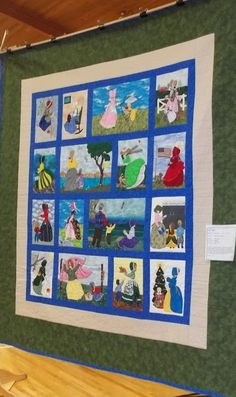 Bonnet Girls Quilt Blocks | Some of My Favorite Quilts from the 2013 Odessa, WA, Quilt Show