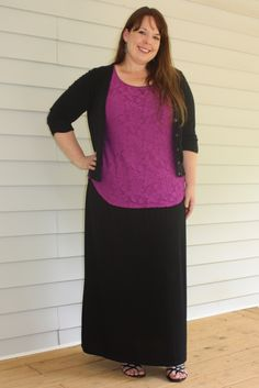 Tunic with a Maxi Skirt {What I Wore Wednesday}