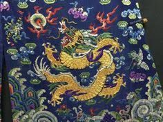 Image result for phoenix and dragon goldwork
