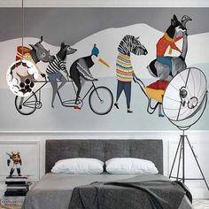 ... From China Animal Mural Suppliers: Wallpaper For Kids Room Living Room  Lager Photo Mural Wallpapers Papel De Parede Custom Size Wall Murals Carton  ...