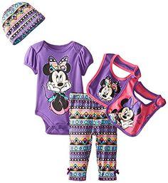 Disney Baby-Girls Newborn Minnie Mouse 5 Piece Gift Box Set Aztec Theme, Purple, New Born  (0-6 Months) Disney http://www.amazon.com/dp/B00ULACPDO/ref=cm_sw_r_pi_dp_GY.gwb1SHH1J4