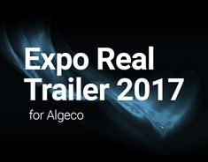 """Check out new work on my @Behance portfolio: """"ALGECO – Expo Real Trailer 2017"""" http://be.net/gallery/60777161/ALGECO-Expo-Real-Trailer-2017"""
