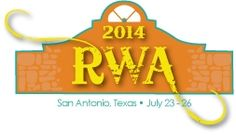 I will speaking with The Real Cowboys & Cowgirls of Texas at the Romance Writers of America San Antonio  July 23rd - 26th