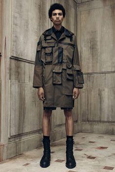 Balenciaga Spring 2016 Menswear Fashion Show