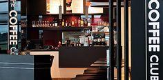 The Coffee Club Coffee Club, Liquor Cabinet, Beverages, Storage, Furniture, Food, Home Decor, Purse Storage, Decoration Home