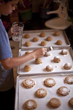 david lebovitz's peanut butter cookies