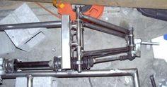 Steering Rack Secured. Photo courtesy of sadik.net.