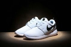 Free Shipping Only 69$ Nike Roshe One Womens 844994-101 White Black Mesh Running Shoes WMNS Size 36-39