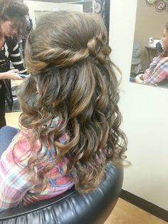 Pagent hair