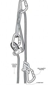 Lower Away! | Descending at maximum efficiency on long routes should include lowering techniques as well as rappelling. #rock #climbing #mountaineering #cliff #techniques #gear #review