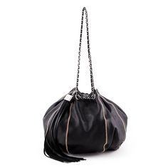 Chanel Brown Lambskin Satin Reversible Sac Cordon Bag - LOVE that BAG - Preowned  Authentic Designer 19232c9d82327