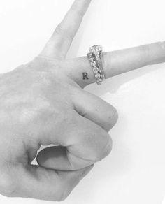 Nice idea to do it in SO's handwriting - Nice idea to do it in SO's handwriting . - Nice idea to do it in SO's handwriting – Nice idea to do it in SO's handwriting – - Tattoo Am Finger, Wedding Finger Tattoos, Finger Tattoos Words, Wedding Band Tattoo, Finger Tattoos For Couples, Finger Tattoo For Women, Tattoos For Guys, Small Finger Tattoos, Finger Tattoo Designs