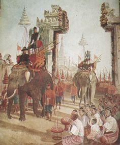 King Naresuan entered Hanthawad