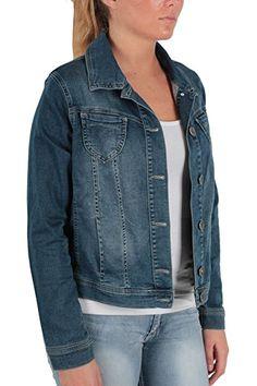 d06b38a983136 KENNY S. Jeans-Jacke Caren -Gr.wählbar- denim  - Jeansjacke