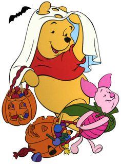 disney halloween | Disney Winnie the Pooh & Piglet Halloween Clipart --> Disney-Clipart ...