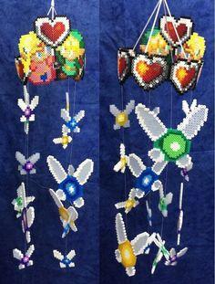 Sprite del videojuego Zelda de Takashi Tezuka , puedes comprarlo ya hecho en mi tienda o comprar los materiales necesarios para hacerlos tu mismo. Necesitas: Color blanco hama nº01 Color negro hama...