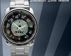 reloj logo volkswagen escarabajo reloj clásico I por garage2016