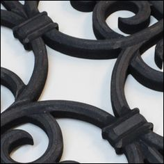 Faux Iron grill Black finish Home Interior Design, Iron, Leather, Black, Jewelry, Jewlery, Black People, Jewels, Jewerly