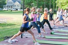 Best outdoor fitness program -- they (and I as one of the founding clients) will celebrate 10 years this September and have NEVER had the same class twice! Ginny and her crew of awesome instructors rock!